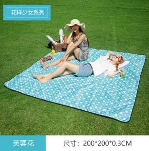 Ultrasonic picnic mat